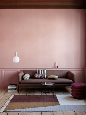 Kelim Rug in Borders by Ferm Living