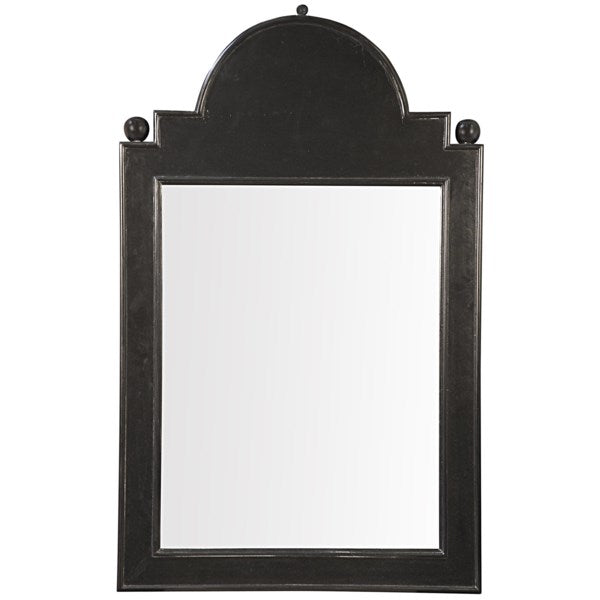 Jess Mirror in Hand Rubbed Black