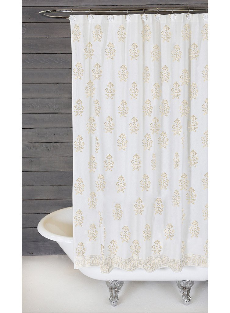 Bahaar Shower Curtain Design By Pom At Home
