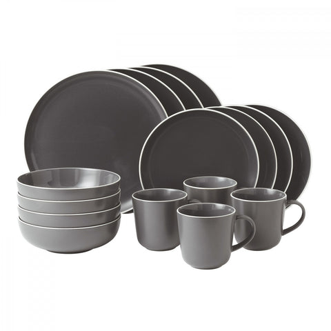 Bread Street Slate 16-Piece Set by Gordon Ramsay