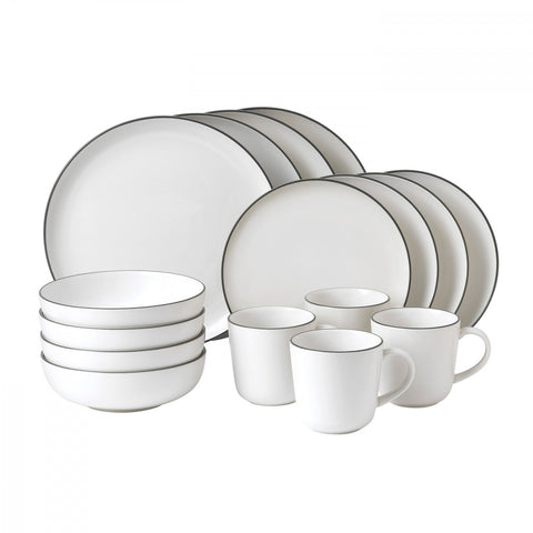 Bread Street White 16-Piece Set design by Gordon Ramsay