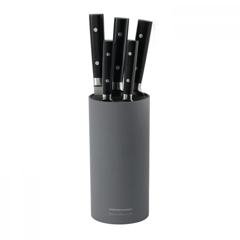 Kitchen Black 6-Piece Knife Block Set design by Gordon Ramsay