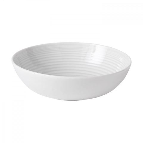 Maze White Pasta Bowl by Gordon Ramsay