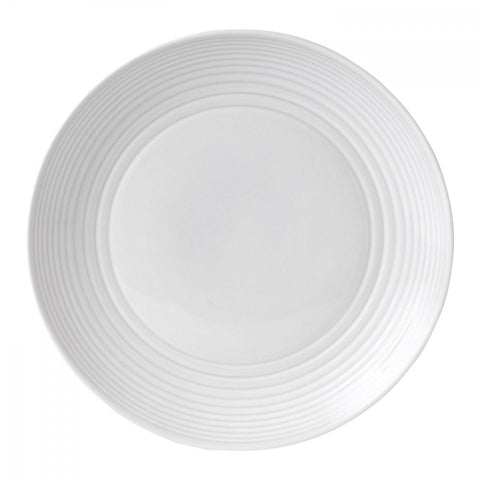 Maze White Salad Plate by Gordon Ramsay