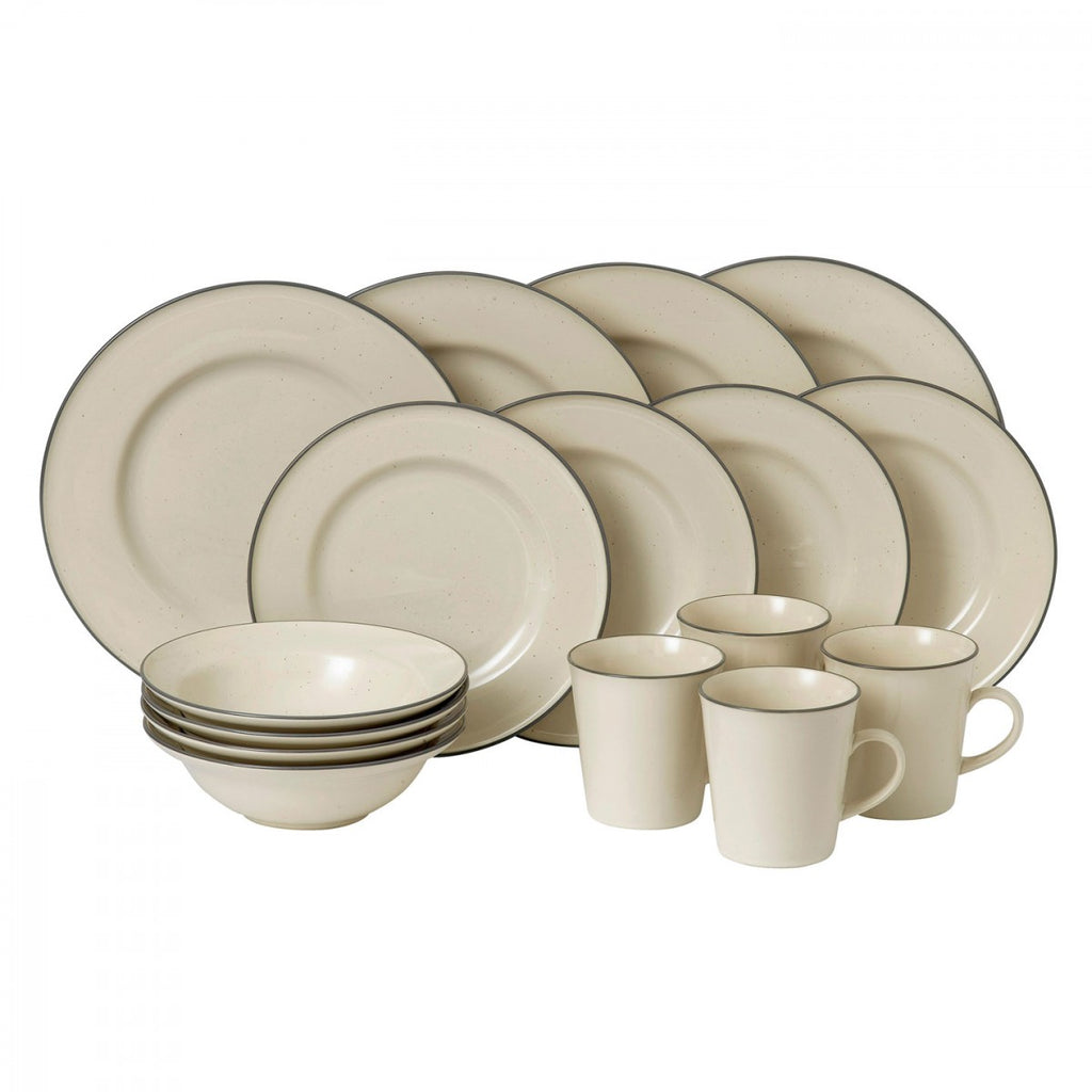 Union Street Cream 16-Piece Set by Gordon Ramsay