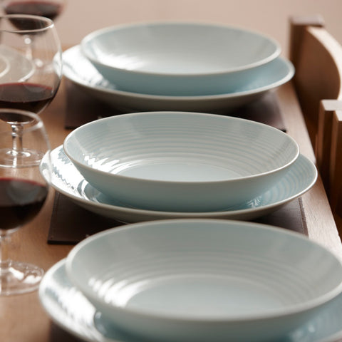 Maze Blue Dinner Plate design by Gordon Ramsay