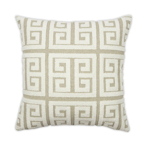 Greek Pillow in Various Colors design by Moss Studio