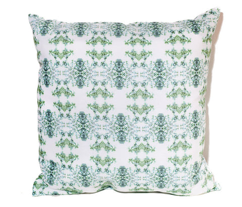 Digitrellis Outdoor Throw Pillow by elise flashman