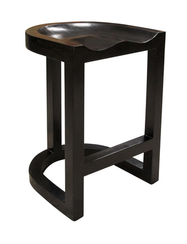 Saddle Bar + Counter Stools by Noir