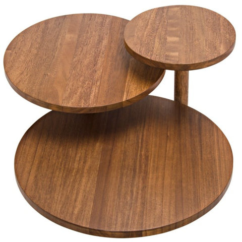 Boogie Cocktail Table in Dark Walnut by Noir