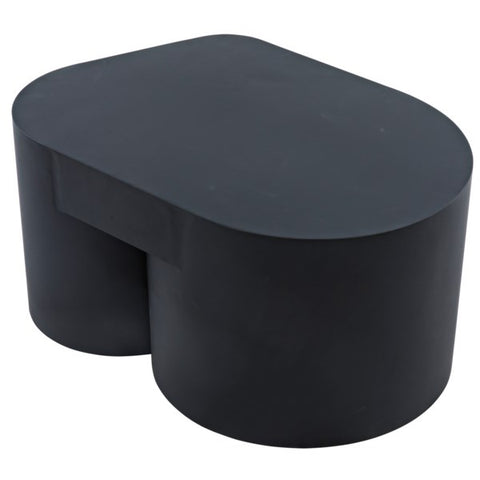 Bain Coffee Table in Black Metal by Noir