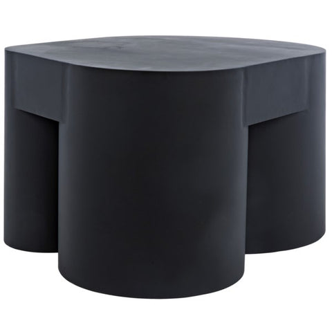 Bain Coffee Table in Black Metal