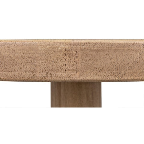 Milena Coffee Table in Washed Walnut by Noir