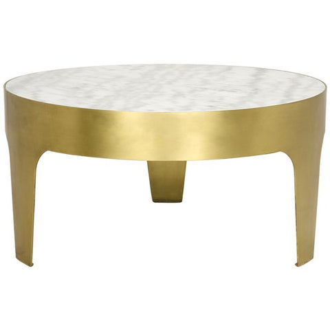 Cylinder Round Coffee Table in Various Colors by Noir
