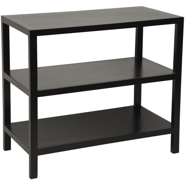 2 Shelf Side Table in Various Colors by Noir