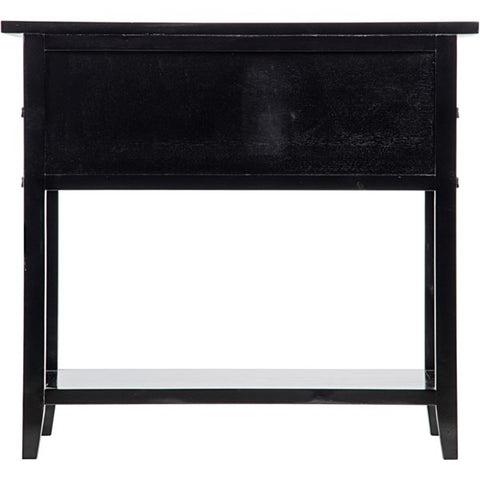 Colonial 2-Drawer Side Table in Various Colors by Noir