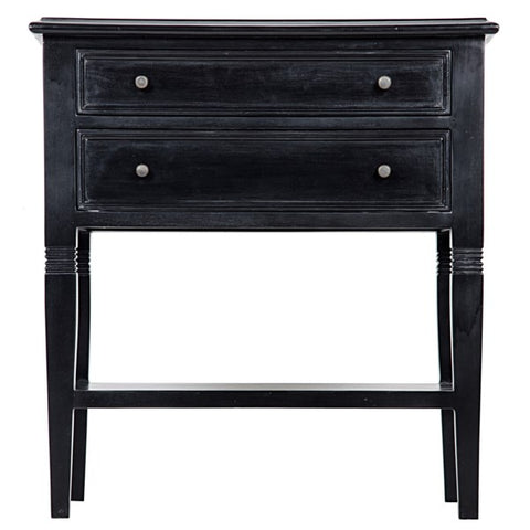 Oxford 2-Drawer Side Table in Various Colors by Noir