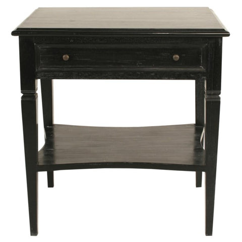 Oxford 1-Drawer Side Table in Various Colors by Noir