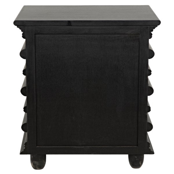 Ascona Side Table in Various Colors by Noir