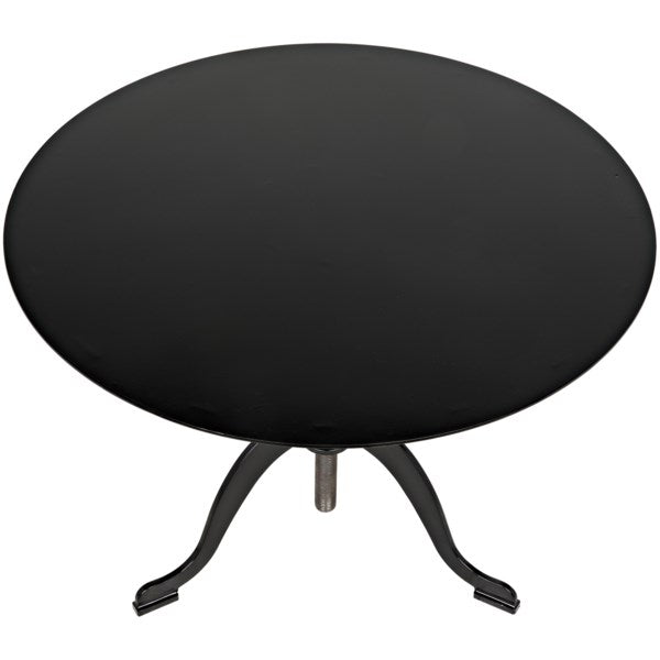 Calder Side Table in Black Metal