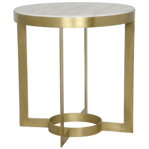 Parker Side Table in Various Colors by Noir