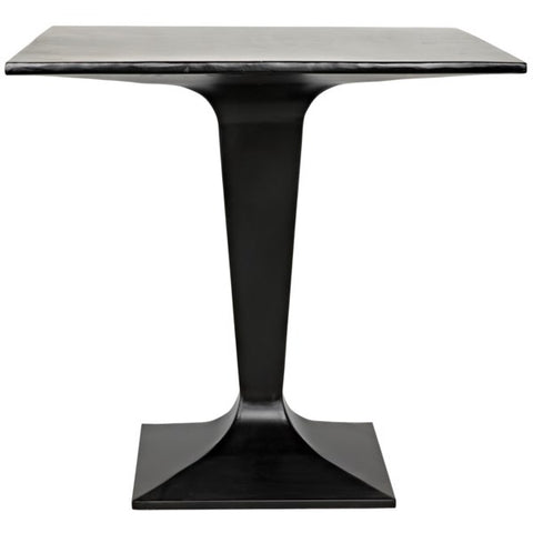 Anoil Bistro Table in Black Metal by Noir