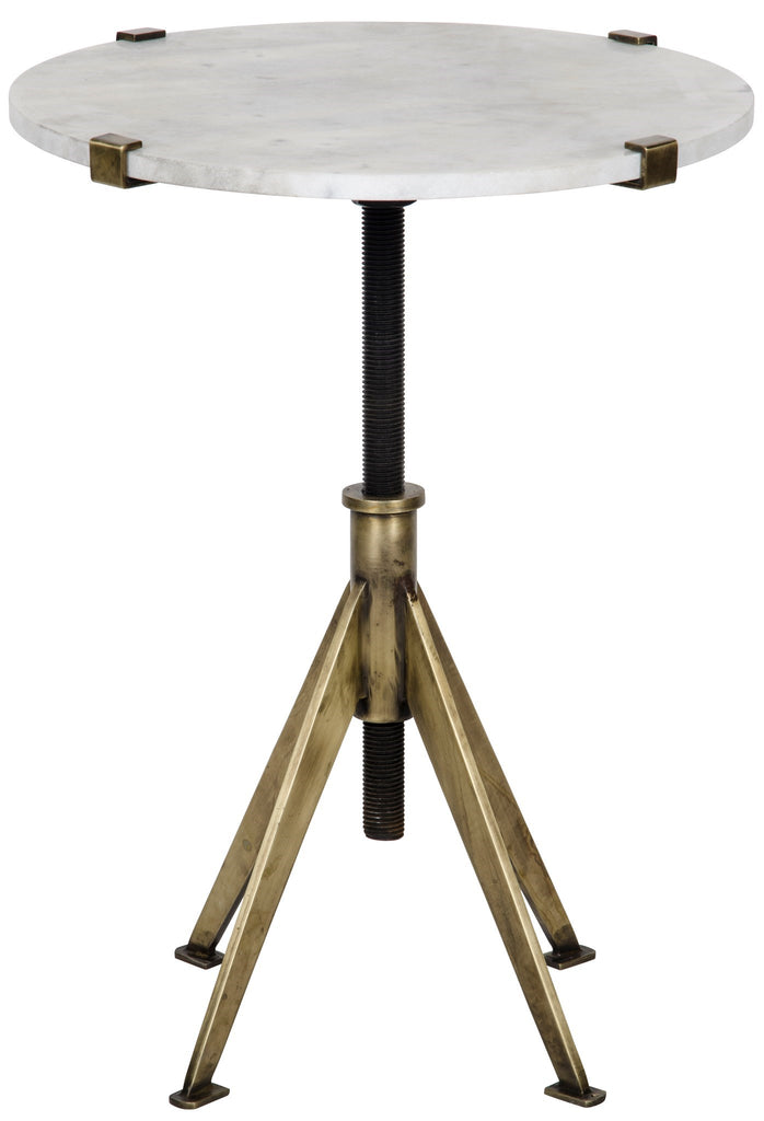 Edith Adjustable Side Table in Various Colors