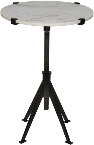 Edith Adjustable Side Table in Various Colors by Noir