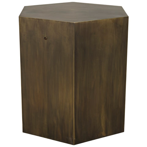 Aria Side Table A by Noir