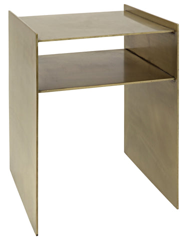 Cyrus Side Table in Various Colors by Noir