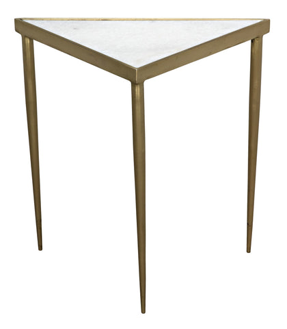 Comet Triangle Side Table in Various Sizes by Noir
