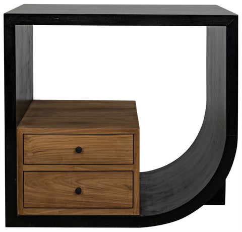 Burton Side Table by Noir