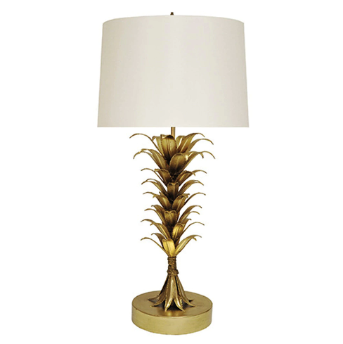 Palm Leaf Table Lamp in Various Colors