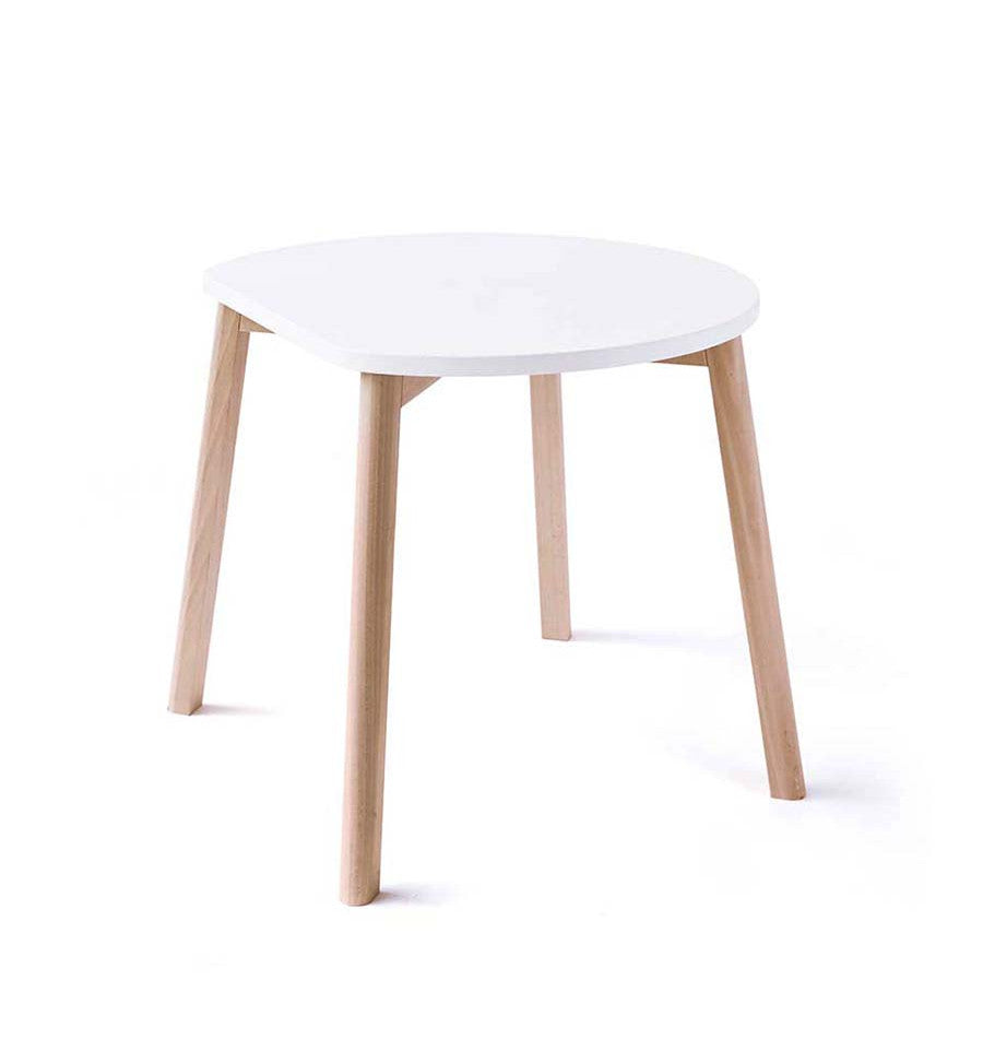 Half Moon Table in White