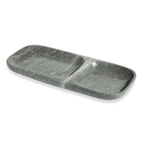 Harlow Dual Section Tray in Various Colors by Interlude Home