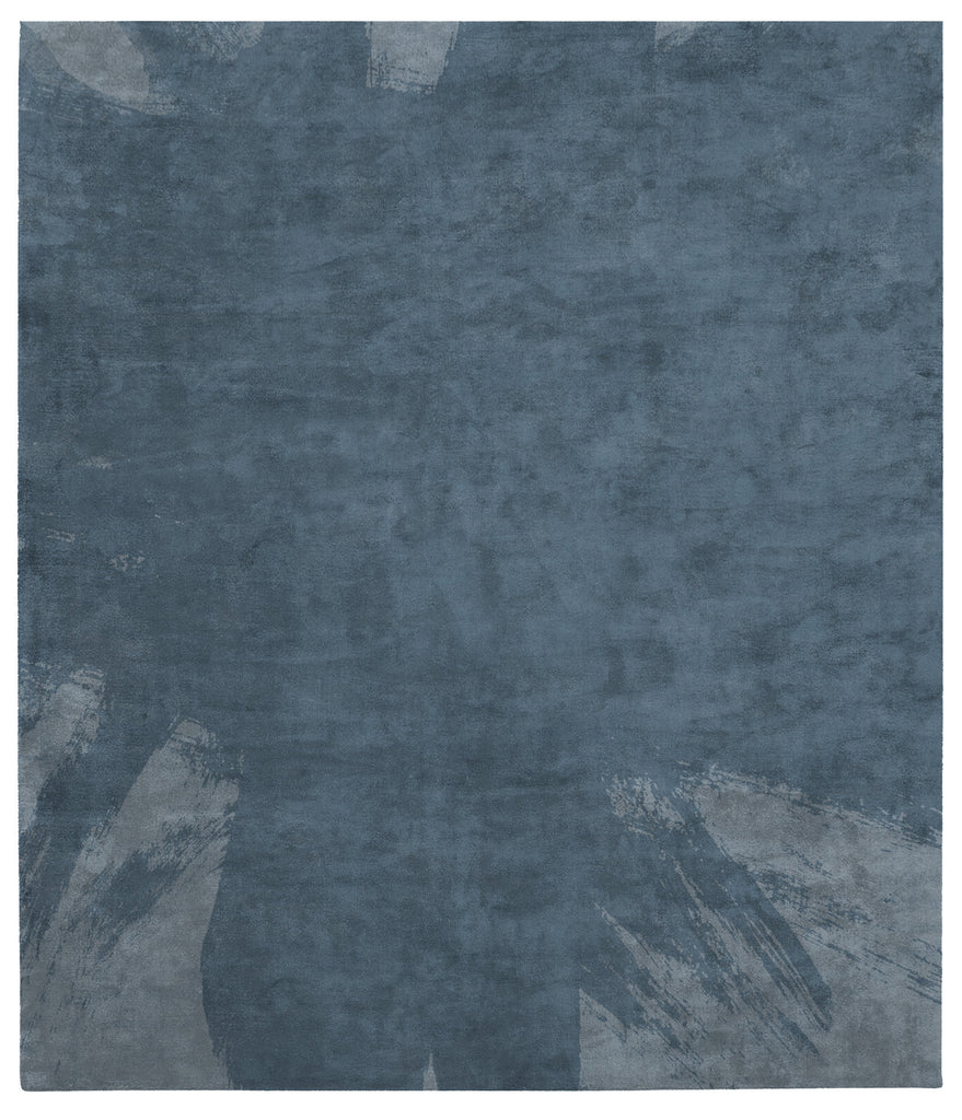Hanjiro Boogie Hand Tufted Rug in Blue design by Second Studio