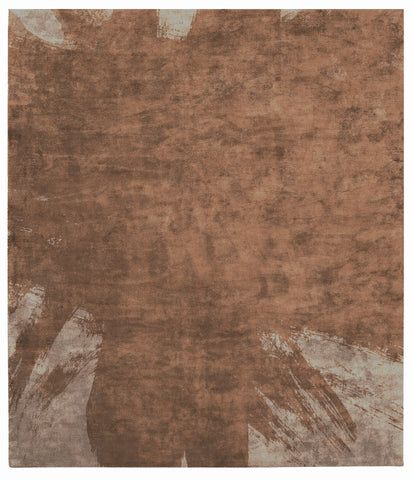 Hanjiro Boogie Hand Tufted Rug in Brown design by Second Studio