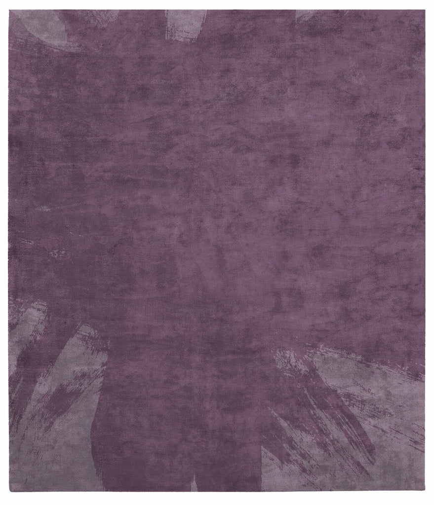 Hanjiro Boogie Hand Tufted Rug in Purple design by Second Studio