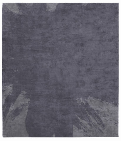 Hanjiro Boogie Hand Tufted Rug in Dark Blue design by Second Studio