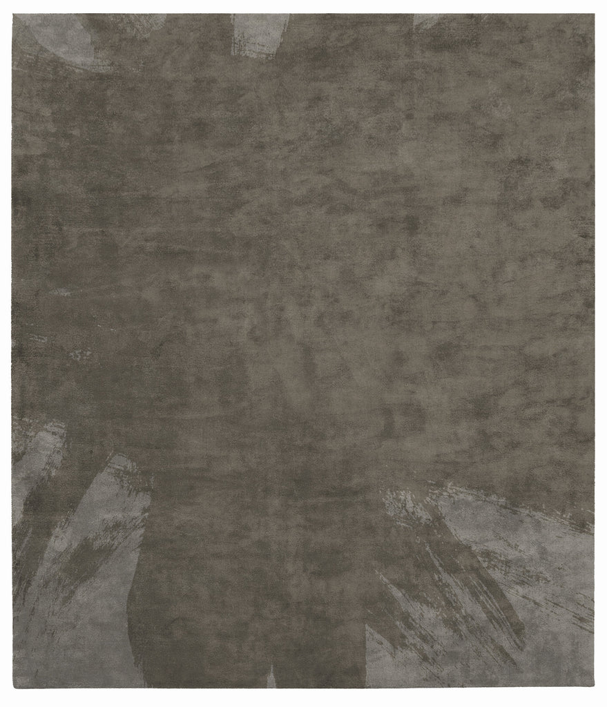 Hanjiro Boogie Hand Tufted Rug in Grey design by Second Studio
