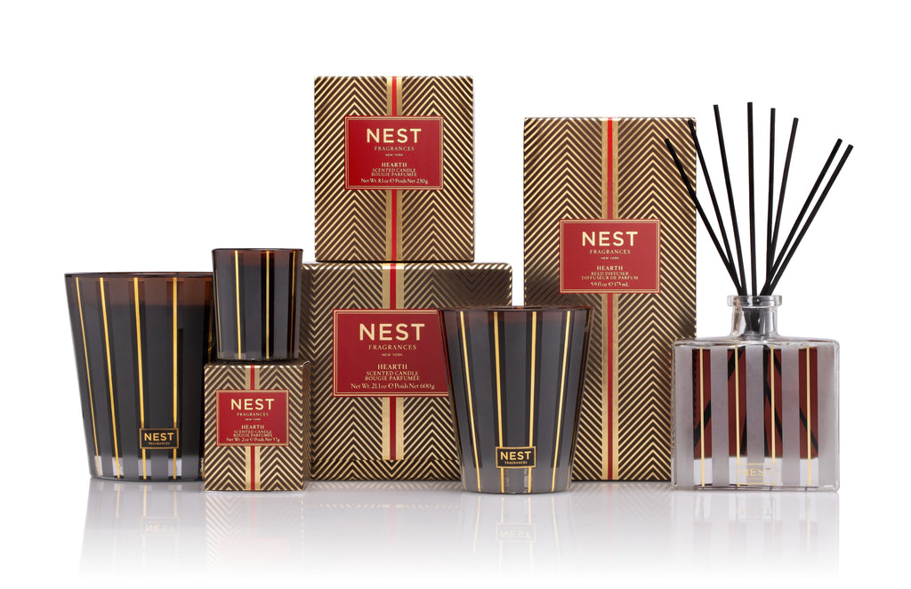 Hearth Reed Diffuser design by Nest Fragrances