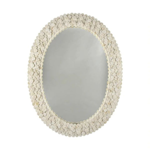 Heather Oval Mirror design by BD Studio