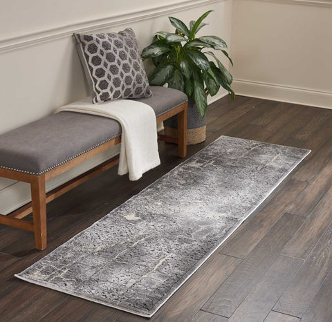 Heritage Rug in Charcoal by Kathy Ireland