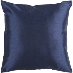 Solid Luxe Cobalt Pillow