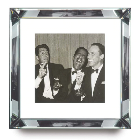 The Rat Pack in Black and White Print