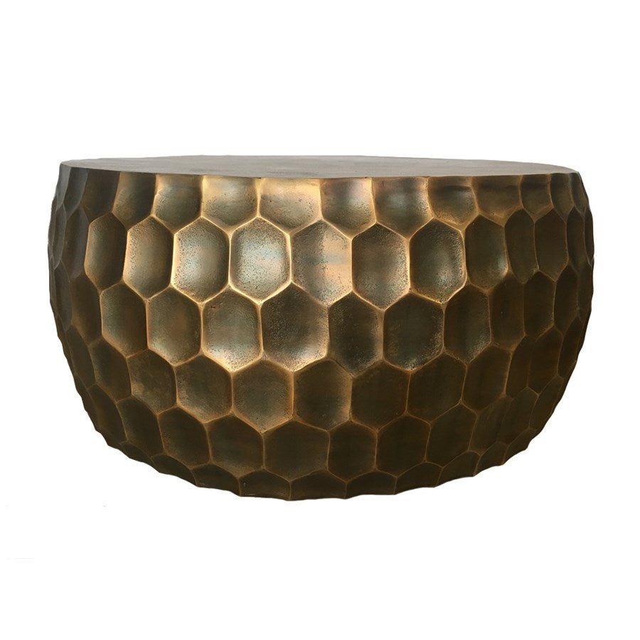 Hive Coffee Table in Antique Brass design by Selamat – BURKE