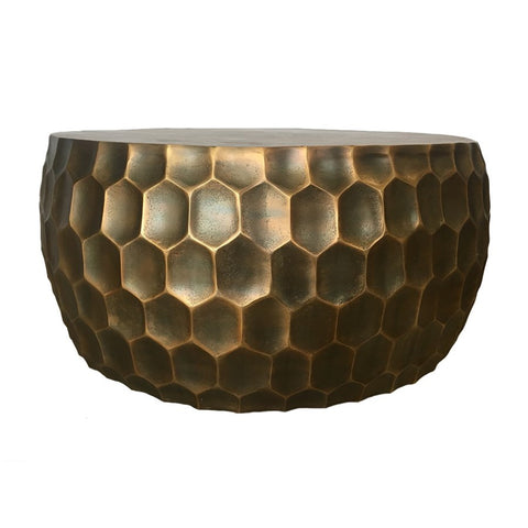Hive Coffee Table in Antique Brass design by Selamat