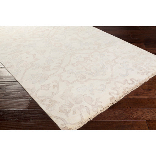 Hillcrest Rug in Light Grey & Taupe design by Surya