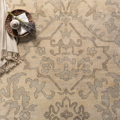 Hillcrest Rug in Light Grey & Taupe