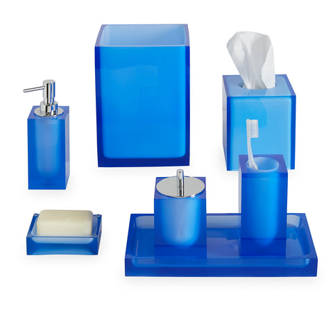 Blue Hollywood Soap Dispenser